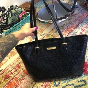 Gorgeous black Michael Kors tote